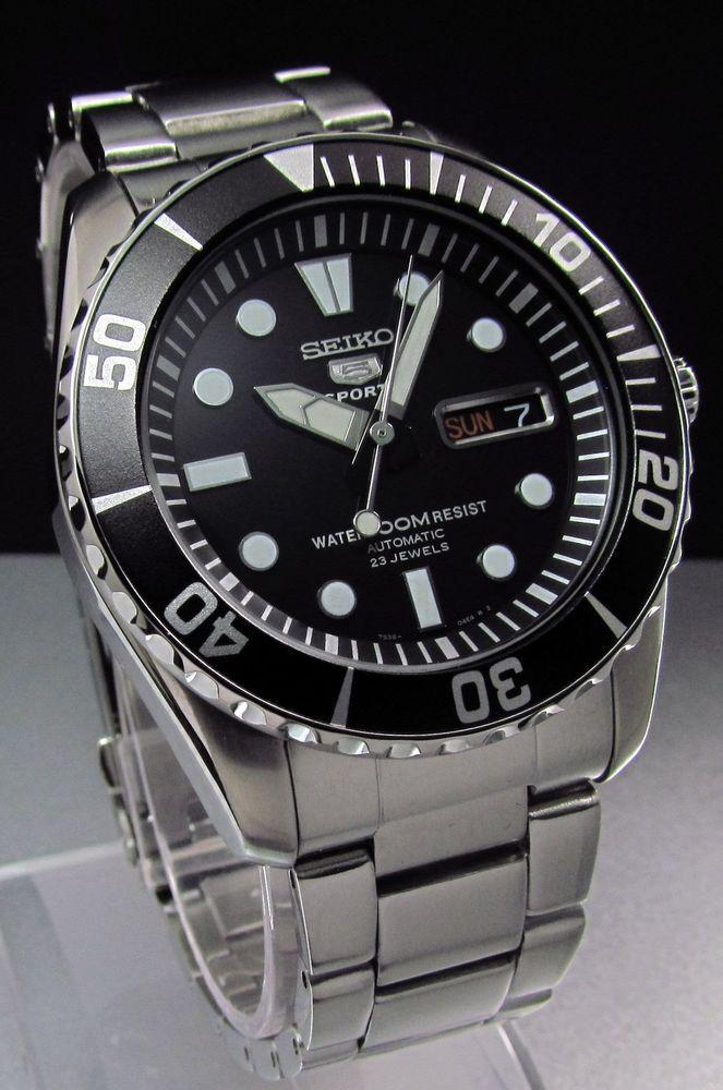 6203241ba3fb SEIKO Snzf 17 Snzf Automatico Diver X-Grande Reloj De Engranajes Bisel 23  joyas Top GT FA I