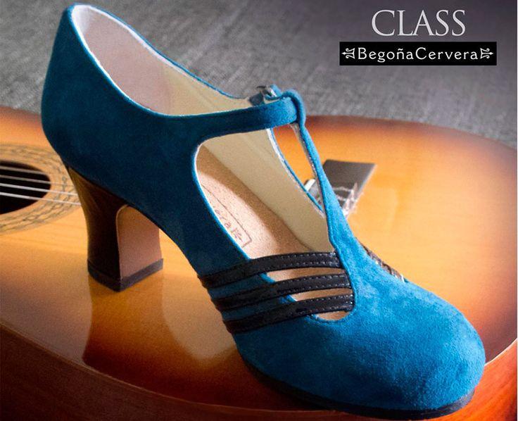 Zapato baile flamenco Begoña Cervera Modelo Class