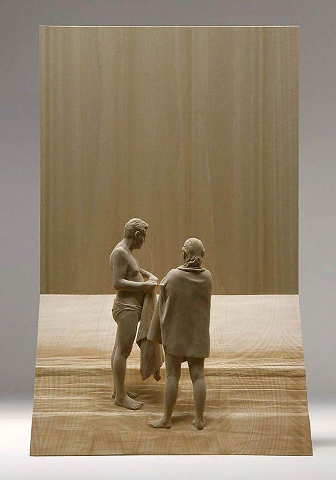これが木の彫刻って信じられます?無茶苦茶リアルな彫刻作品