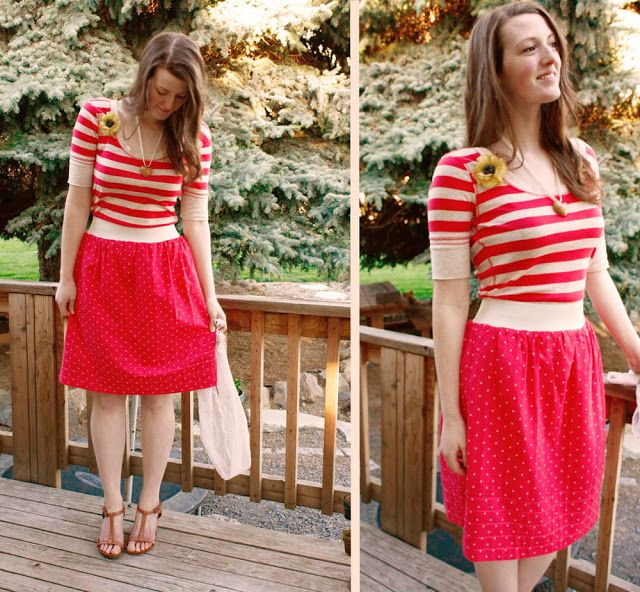 versus: Reversible Skirt Tutorial with Guest Disney of Ruffles and Stuff