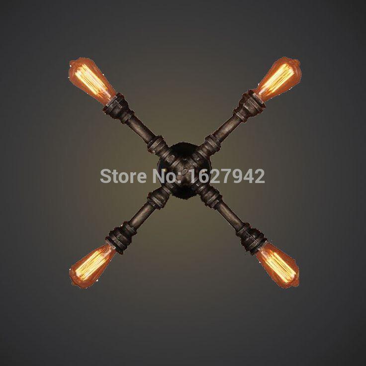 Купить товарКафе бары рестораны, кованого лампа железная стена европейская технология из крест настенный светильник в категории Настенные светильникина AliExpress.