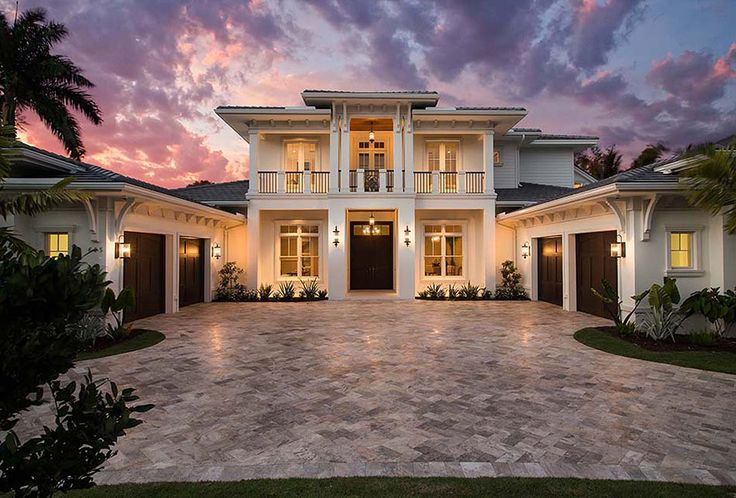<div><ul><li>With its tropical good looks and lots of outdoor spaces to enjoy, this Florida house plan is a delightful home for your family.</li><li>High end amenities are everywhere with gorgeous ceiling treatments to look at.</li><li>The outdoor living spaces are equally high-end with a summer kitchen, outdoor fireplace and covered balconies on the upper floor.</li><li>Get a super-sized master shower in the master bathroom...