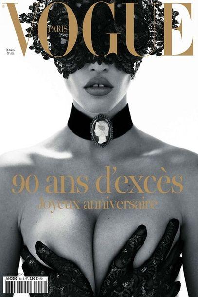 Lara Stone by Mert & Marcus for Vogue Paris October 2010