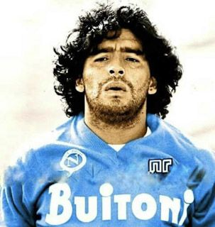 Maradonna at Napoli