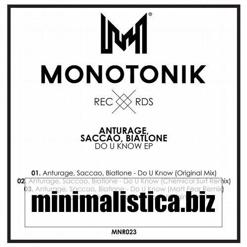 Saccao, Anturage, Biatlone  Do U Know EP - http://minimalistica.biz/saccao-anturage-biatlone-do-u-know-ep/