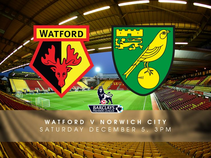 Watford v Norwich City - Premier League Preview