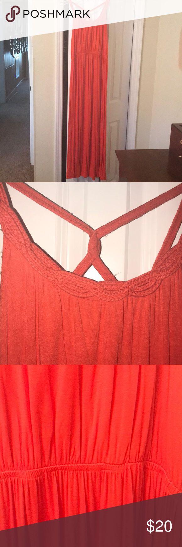 Beautiful Orange Maxi Orange Maxi Dress Clothes Design