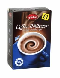 Cafe Classic Coffee Whitener 300g Creamier tasting smoother coffee.