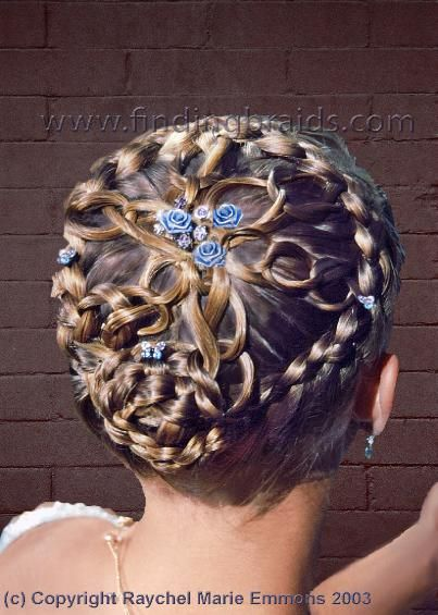 beautiful crown hairstyle