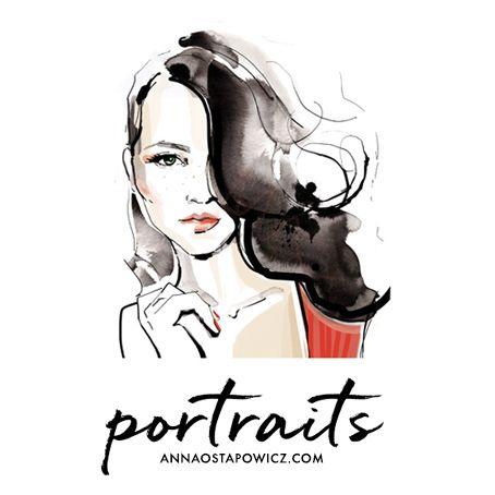 Portraits Illustration, Anna Ostapowicz, www.annaostapowicz.com