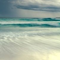 Set of 2 fine art prints - Stormy Blues at Esperance and Pinky Blues at Cottesloe Beach - hardtofind.