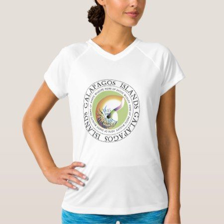 Galapagos Islands Nautilus Sea Shell T-Shirt - tap, personalize, buy right now!