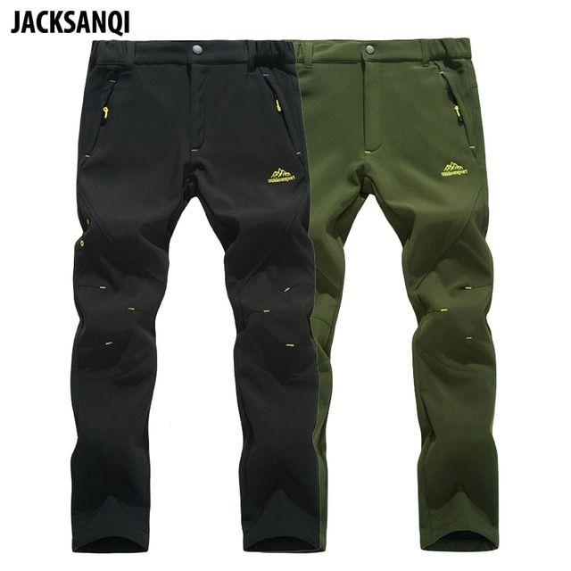Jacksanqi Men S Winter Trekking Pants New Outdoor Waterproof Windproof Thermal Thick Trousers Hiking Camping Ski Pants Hiking Pants Best Hiking Pants Ski Pants