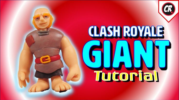 GIANT   CLASH ROYALE   POLYMER CLAY TUTORIAL
