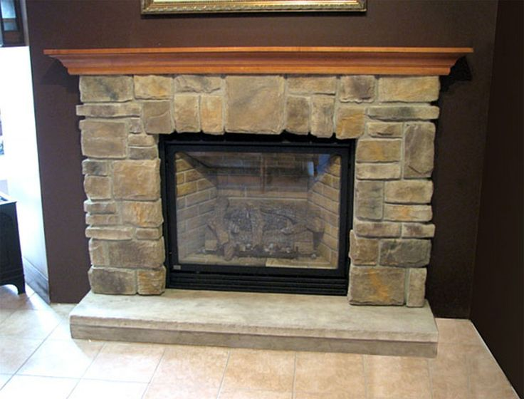 Stacked Stone Fireplace Surround best 25+ corner stone fireplace ideas on pinterest | stone