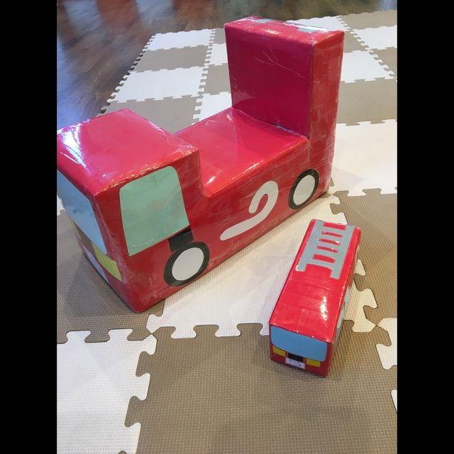 アプリ投稿 消防車 保育や子育てが広がる 遊び と 学び のプラットフォーム ほいくる 消防車 おままごと 手作り 手作りおもちゃ 保育園
