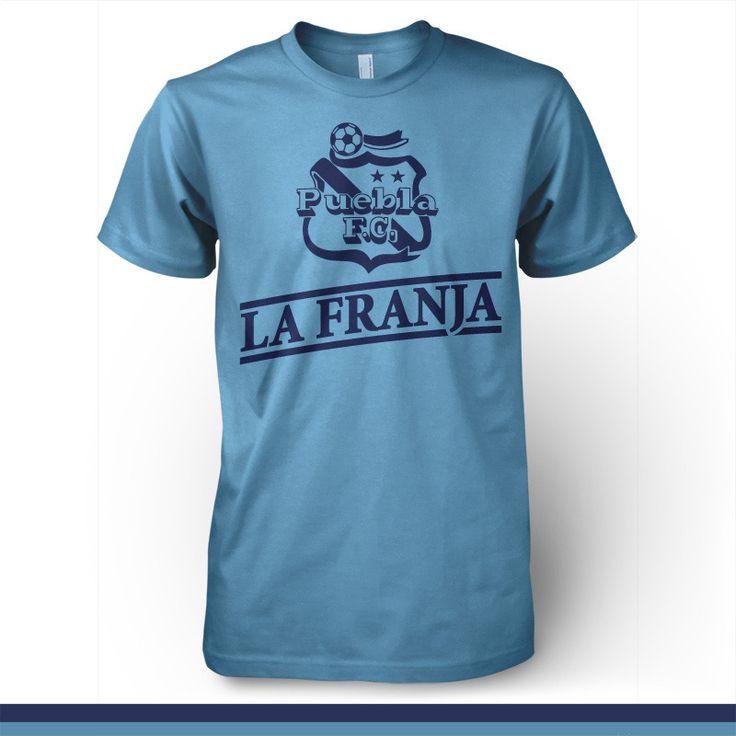 Puebla FC Mexico - La Franja T-shirt Camiseta