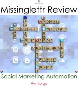 Are you a blogger? Do you want to reduce the time you spend on social media? Have you thought of automating your social media marketing campaigns? Automation helps as it saves you time and money. Here's a guide and review of a new online automated social marketing campaign creation application called Missinglettr. It'll make your life easy as a blogger.[Psst. There's a bonus in the post for you!]