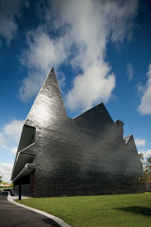 5 Beautiful Patterned Buildings (PEGS Junior Boys School Building,Australia) | Most Beautiful Pages