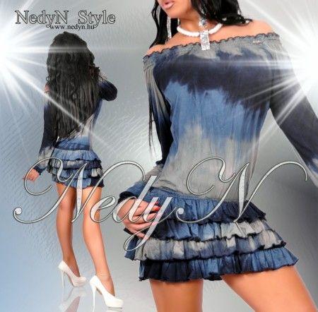 NedyN batikolt  fodros női ruha