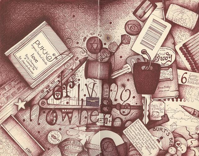 just doodles by andrea joseph's illustrations, via Flickr