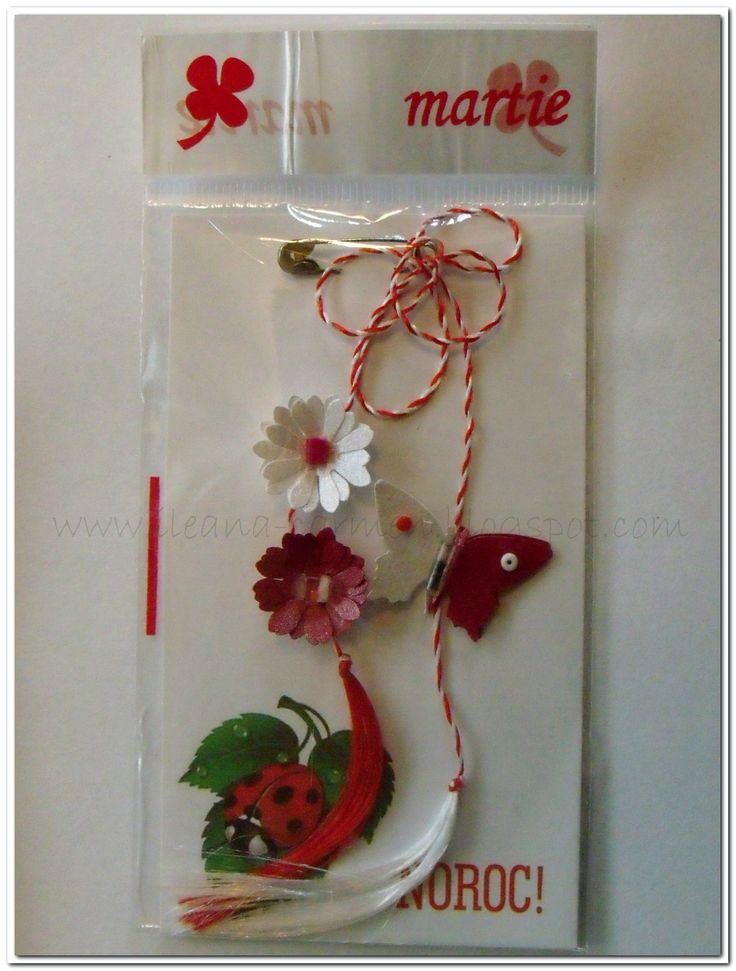 TUTORIAL: Spring Amulet for Celebration of 1-st  March in Romania.