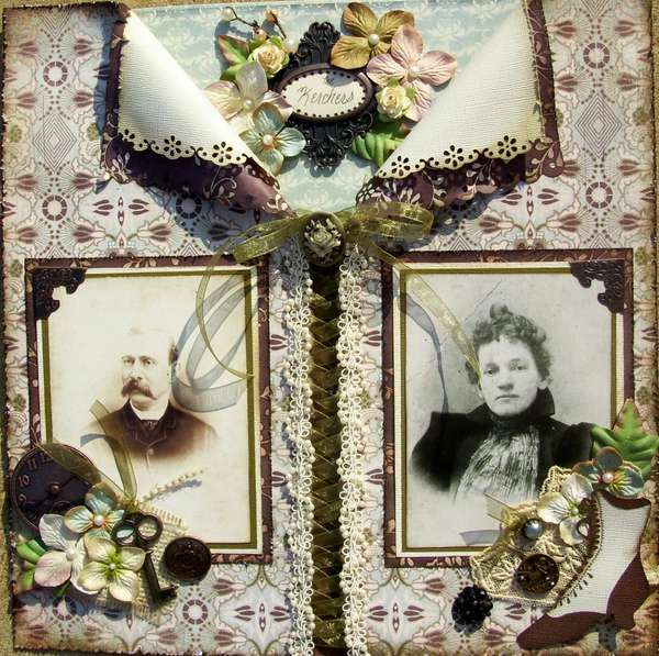 Love this scrapbook page...