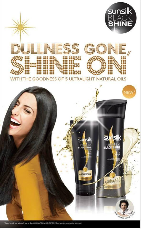 Sunsilk Black Shine - Print Ad February 2014 ...