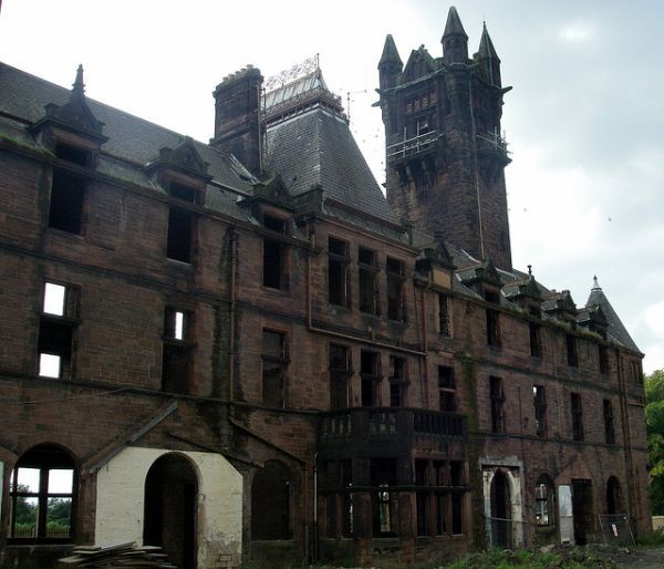 Abandoned Gartloch Insane Asylum, Glasgow