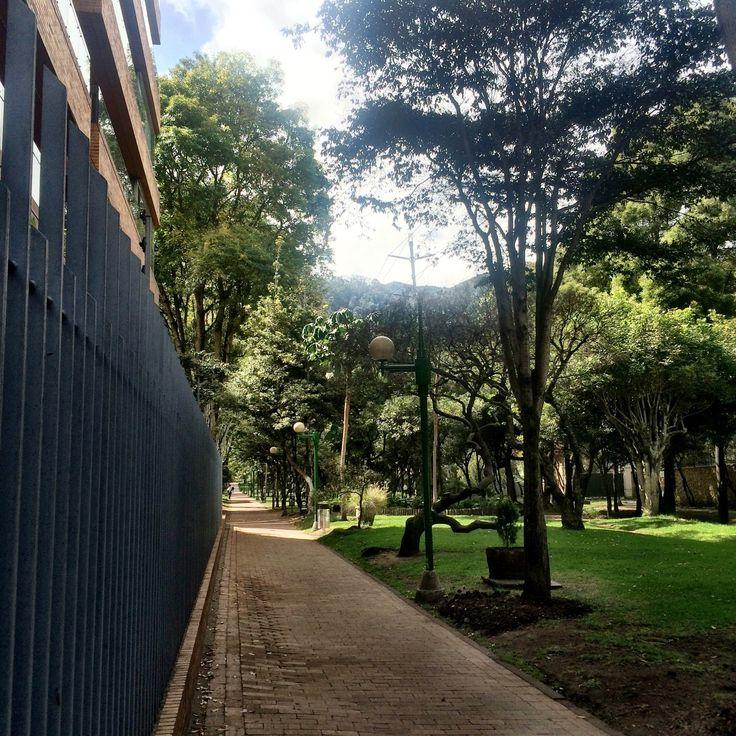 Saben qué #calle es ésta? Les damos una pista: #barrio #chicó, junto a uno de nuestros #parques favoritos #bogota #colombia  #chapinero