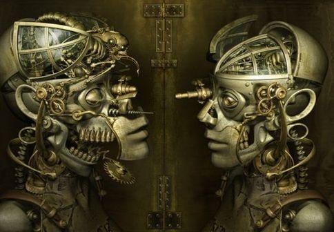Disociación mental: tu cerebro podría estar poniendo atención en un objeto sin que lo hayas notado: Steampunk Robots, Scifi, Digital Art, Steam Punk, Science Fiction, Character Design, Kazuhiko Nakamura, Sci Fi, Kazuhikonakamura