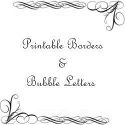 free printable letter borders
