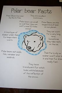 Polar Bear Facts & link to Mama do you love me book