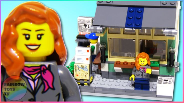 Newsstand Building - LEGO 3 in 1 Toy & Grocery Shop set (31036) stop motion video: https://youtu.be/kjkMpf4S1rg