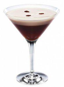 1 oz cold espresso 1 1/2 oz Absolut® vodka 1 1/2 oz Kahlua® coffee liqueur 1 oz white creme de cacao