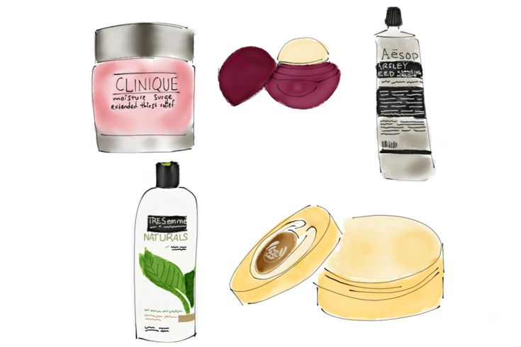 Blog: Winter Beauty Essentials   fashion illustration
