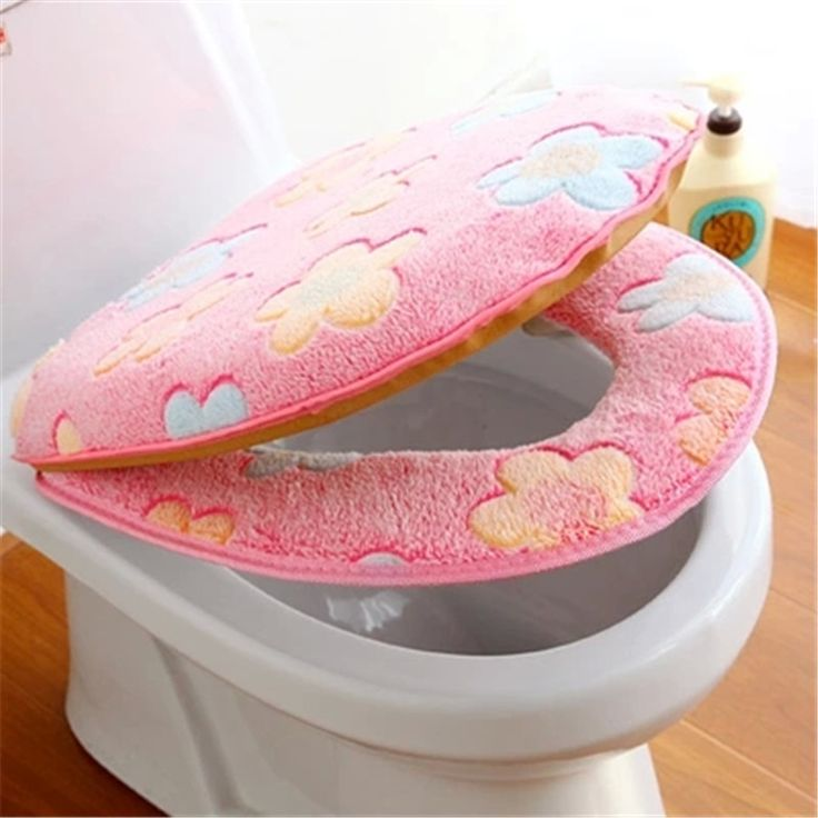 ==> [Free Shipping] Buy Best Lovely flowers thicken suit cover two-piece set toilet mat Online with LOWEST Price   32558208036