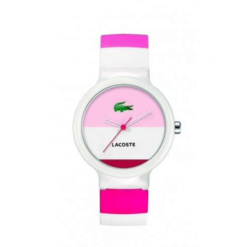 Lacoste Unisex Multi Colour Rubber Strap Watch
