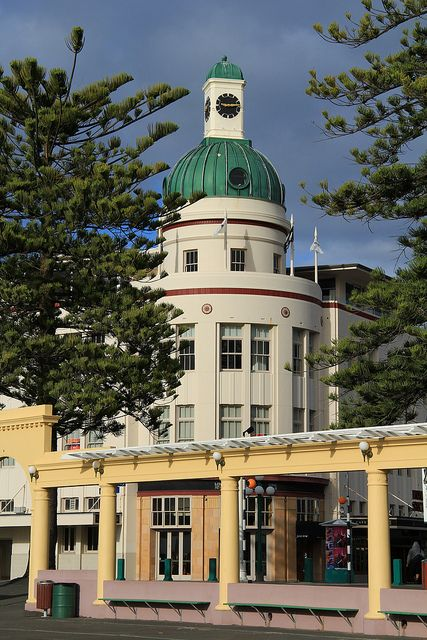 Napier, New Zealand  http://www.travelandtransitions.com/destinations/destination-advice/australia-south-pacific/travel-new-zealand-auckland-christchurch-wellington-the-southern-alps-and-lots-of-beautiful-nature/