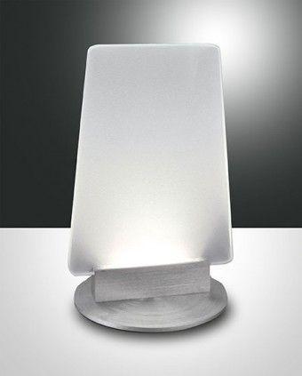 Fabas Luce Sofi LED Tischleuchte aluminium
