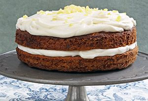 Ina Garten's Carrot Cake with Ginger Mascarpone Frosting - Get a sneak