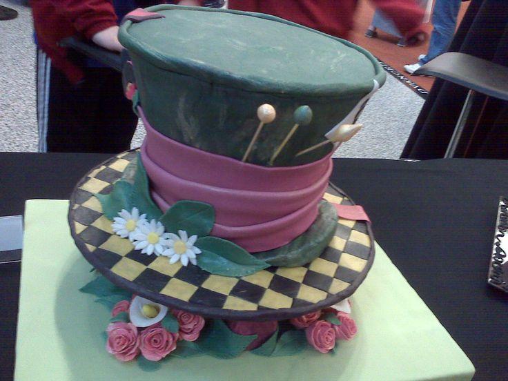 Fondant: Mad Hatters, Decorating Ideas, Cake Ideas, The Mad Hatter, Mad Hatter Cake, Fondant Cakes, Fondant Birthday Cakes, Cake Decorating