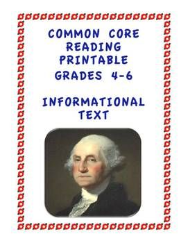 8,000+ downloads. If you haven't grabbed this FREE printable for developing CC Informational Text Standards in your students please do so.