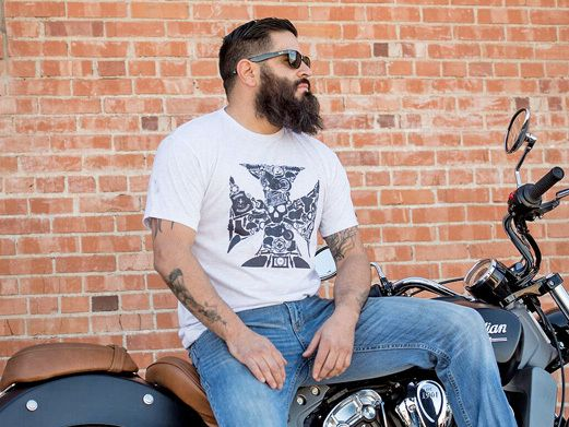 Biker Breacher T-Shirt! SO THERE I WAS... Every time you hear it, whether around a camp fire or at a Friends BBQ, you know you're about to hear one of the most hysterical or life and death stories. Whether it was the largest fish caught or the trophy bull elk, let us help you tell your story. Just don't forget to start it properly, SO THERE I WAS! #bottlebreacher