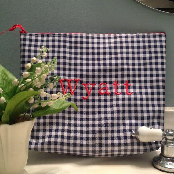 Large cosmetic bag wet bag laundry bag by shopmayfieldlane