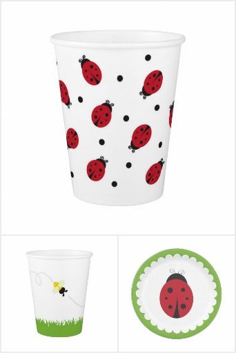 Ladybug party supplies for your little one turning one! Shop our entire collection of ladybug party supplies in our online stores.