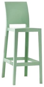 One More Please Stool Green Return By Kartell Modern