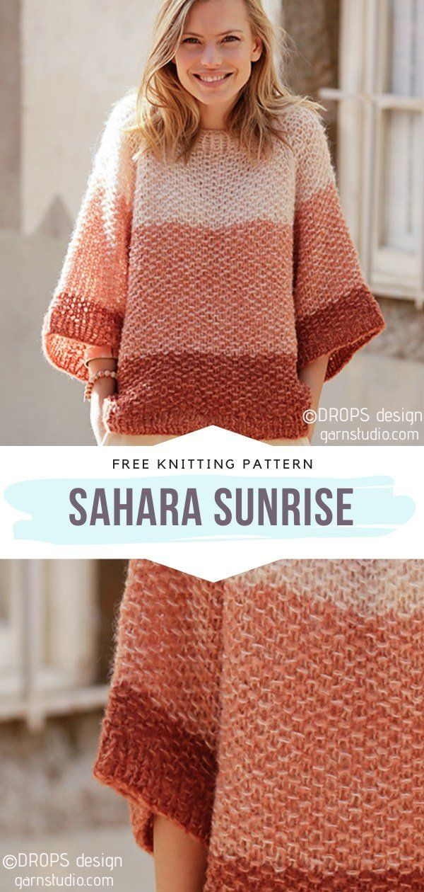 Craft This Gorgeous Knitted Tunic Sweater Ideal For The Fall