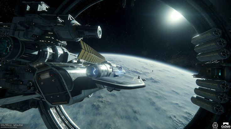 ArtStation - Star Citizen - Gamescom 2016 Demo Lighting, Ashley McKenzie