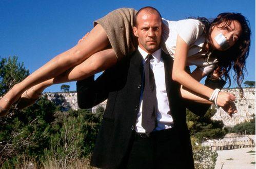 """Elle est le """"colis"""" de Jason Statham dans Le Transporteur"""